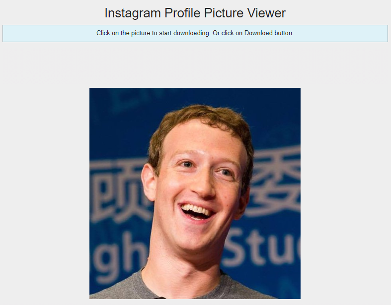 How To View/Download Full Size Profile Picture On Instagram? | Both