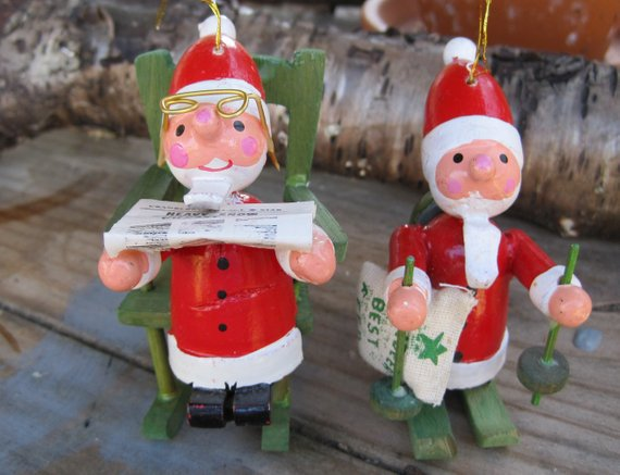 Vintage Christmas Ornaments Etsy Shop BolducsBasement