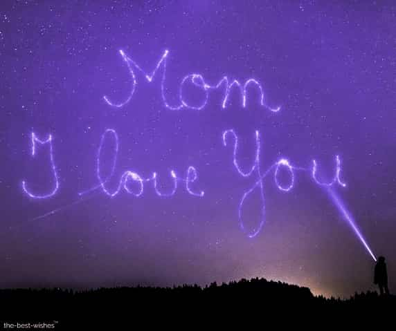 Good Morning Mom i love you image