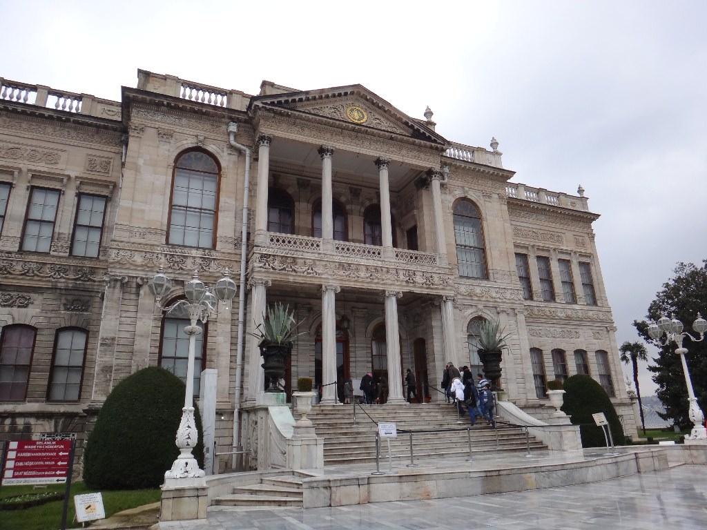 Palácio Dolmabahçe em Istambul