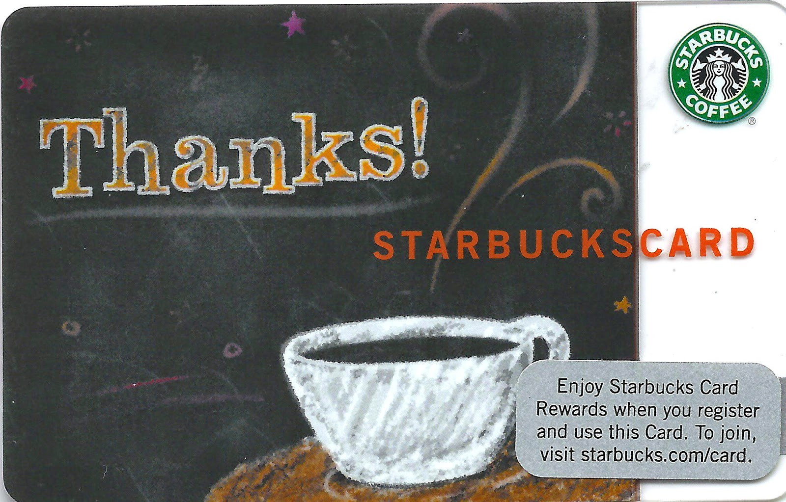 Starbucks Cards Special Edition 31d Occasions Card Series Part 4