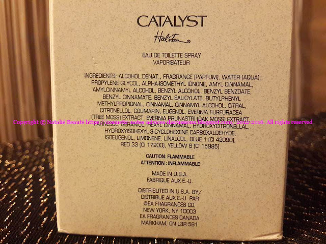 CATALYST: BI-DIMENSIONAL ELIXIR - WHEN THE BEAUTY SHINES WITH TWO DIFFERENT FACES OF ONE AND THE SAME DIAMOND by HALSTON NATALIE BEAUTE PHOTO AND PERSONAL REVIEW