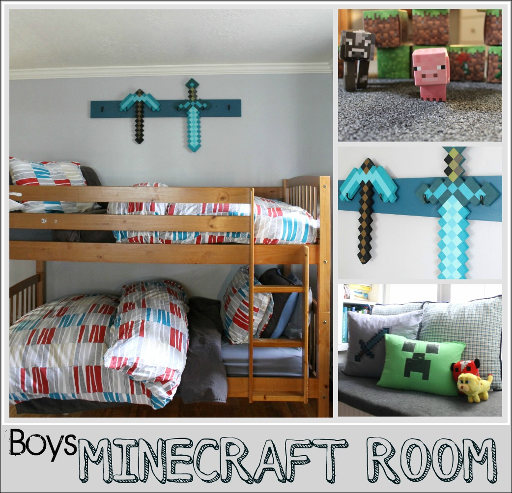 Boys Minecraft Bedroom The Wicker House