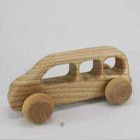 LFC38, Omnibuss, Lotes Toys Wooden Car