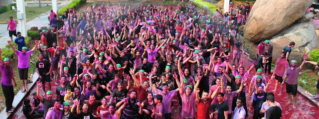 Happy Holi Pool Party 2017