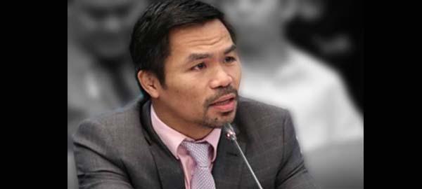 Sen. Pacquiao on Gay Men Entering the Women's CR: 'Hindi siya puwede pumasok sa restroom ng mga babae!'