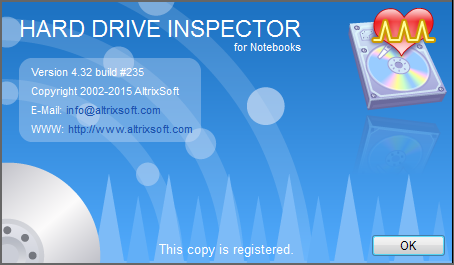 Hard Drive Inspector 4.32 Build 235 for Notebooks