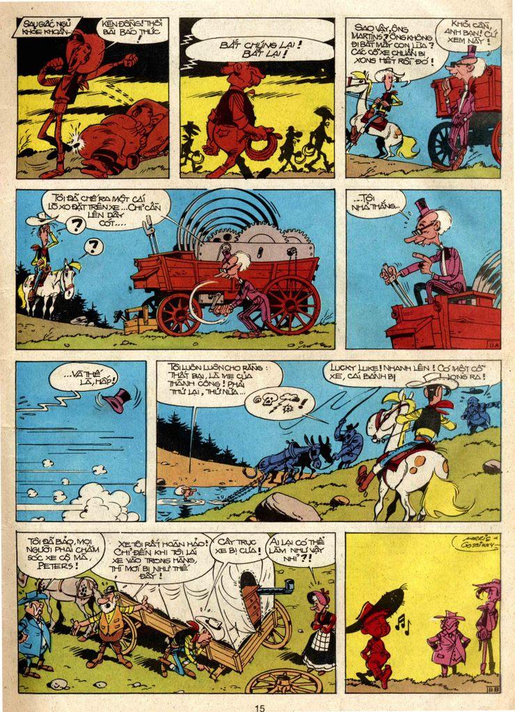 Lucky Luke tap 3 - doan lu hanh trang 11