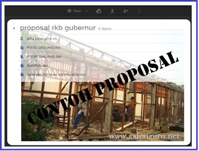 Kumpulan Contoh Proposal Pengajuan Dana Pengadaan Ruang Kelas Baru Format Terbaru
