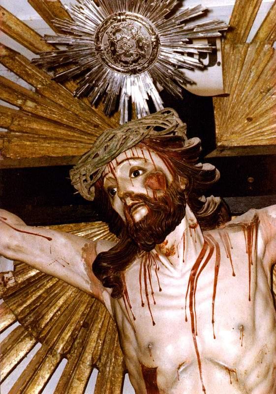 Cristo da igreja da Ordem Terceira de São Francisco. São João del Rei, MG.
