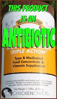 """Rooster Booster MultiWormer"" is frequently used by folks wishing for a ""more natural"" method of worm control, however, what most do not realize is that it is not a worm eradicator and it contains two types of antibiotics, hygrymycin B and bacitracin methylene disalicylate.  Note that a 1.25 lb container costs upwards of ~$25 and must be fed to the flock every day for weeks to control capillary, cecal and roundworms only."