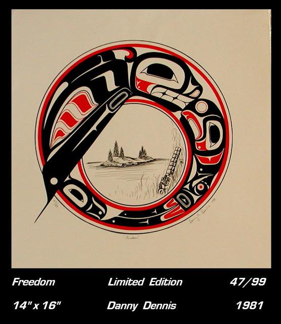 Danny Dennis print Freedom