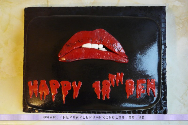 Rocky Horror Picture Show Cake