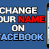 How Do You Change Your Name On Facebook App