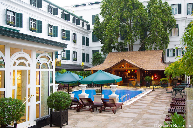 Sofitel Legend Metropole Hanoi Pool Things to Do in Hanoi Vietnam
