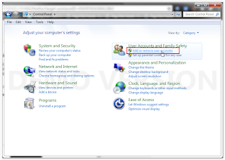 Cara Membuat Password Pada Windows 7