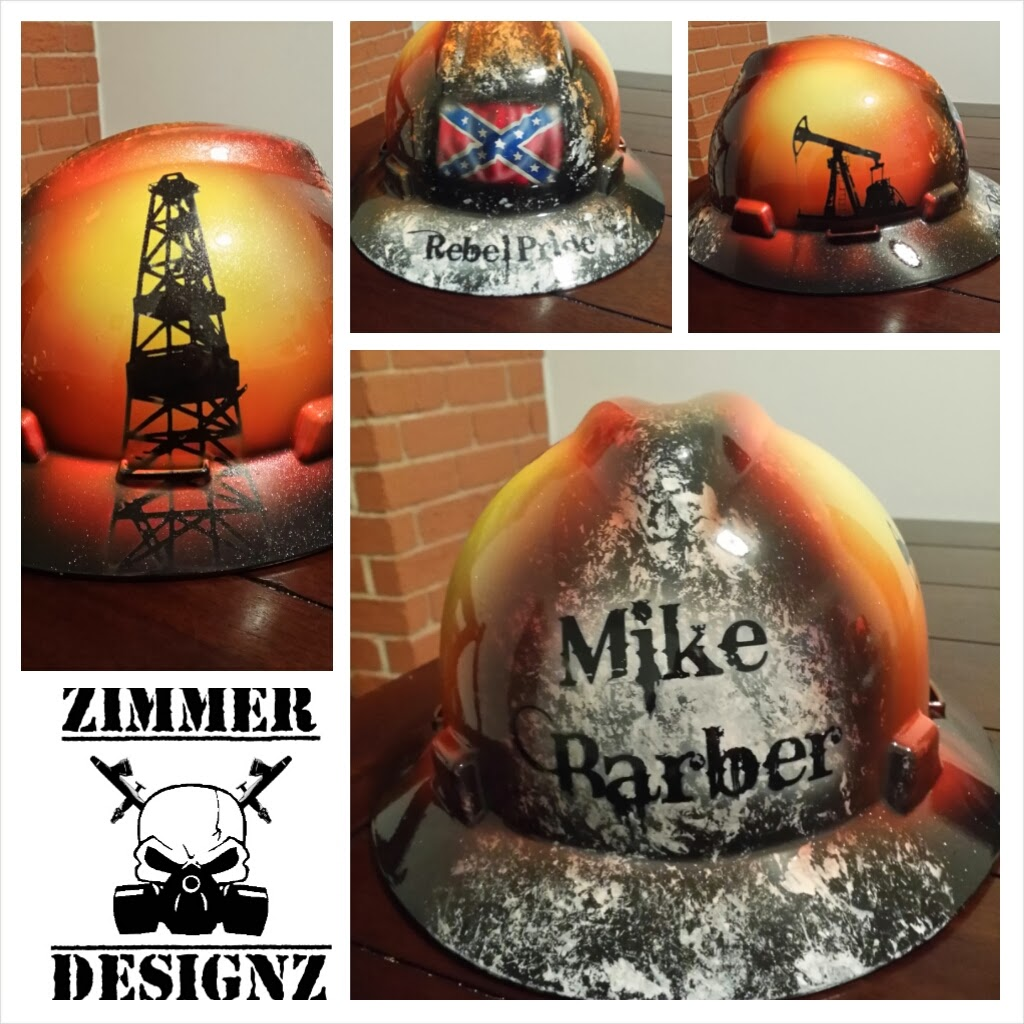 Zimmer DesignZ Custom Paint: Oilfield