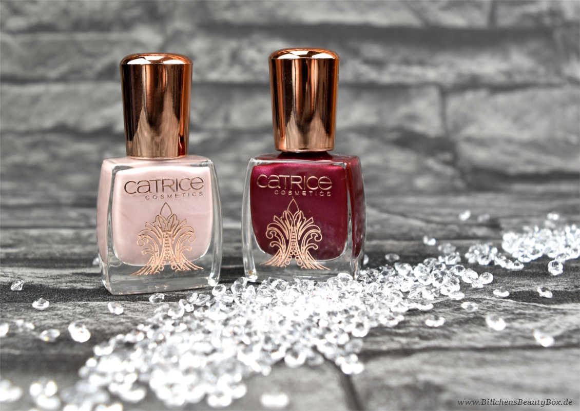 Catrice - Victorian Poetry - Berry British & Noble Nude - Review & Swatches