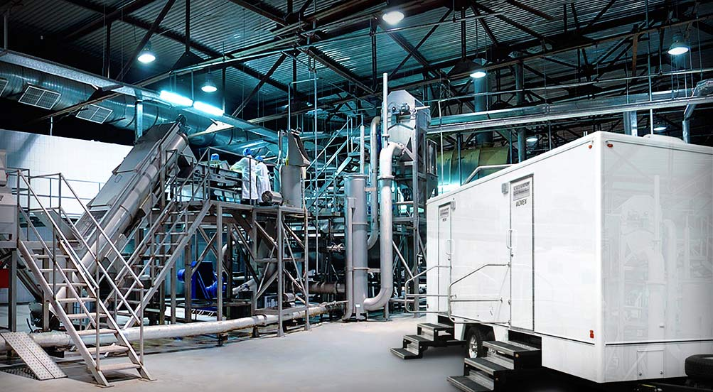 Bathroom Trailer Rental The Industrial By Callahead