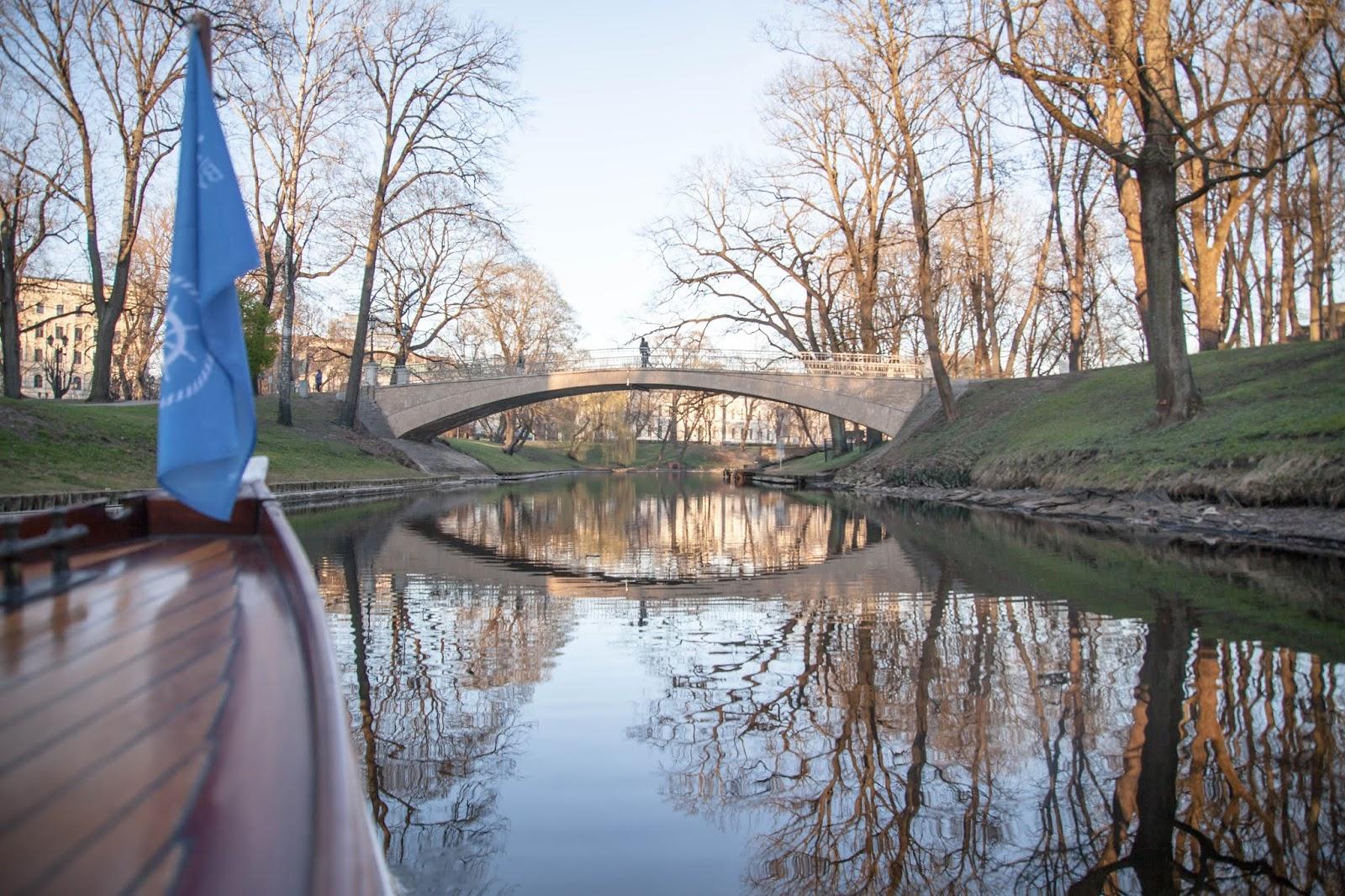 Riga Riika nähtävyydet Riikassa kanaaliajelu