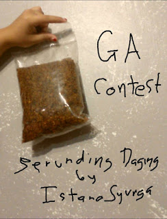 GIVEAWAY CONTEST | Serunding Daging byIstanaSyurga