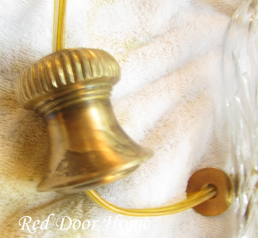Remodelaholic How To Age Brass For A Classic Look