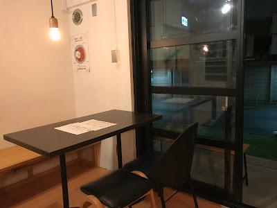 高円寺アンドビール テーブル席