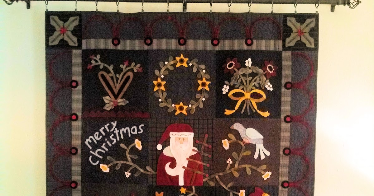 Me And My Stitches The Merry Christmas Quilt