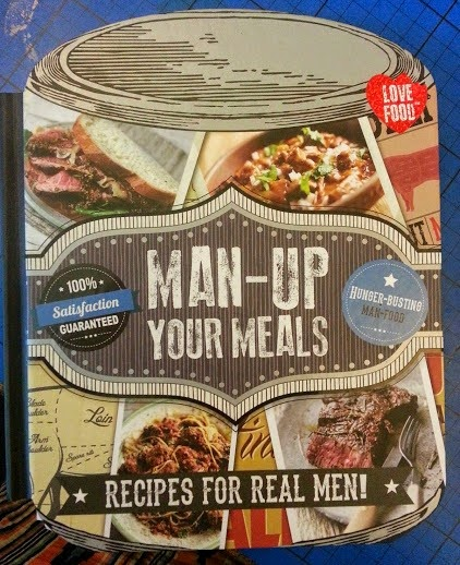 Man-Up Your Meals recipe book review with Red Onion, Chorizo and Blue Cheese Omeletter Recipe