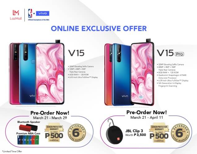 Exclusive Freebies Await Early Vivo V15, V15 Pro Buyers