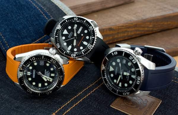 tali jam tangan dari karet - rubber