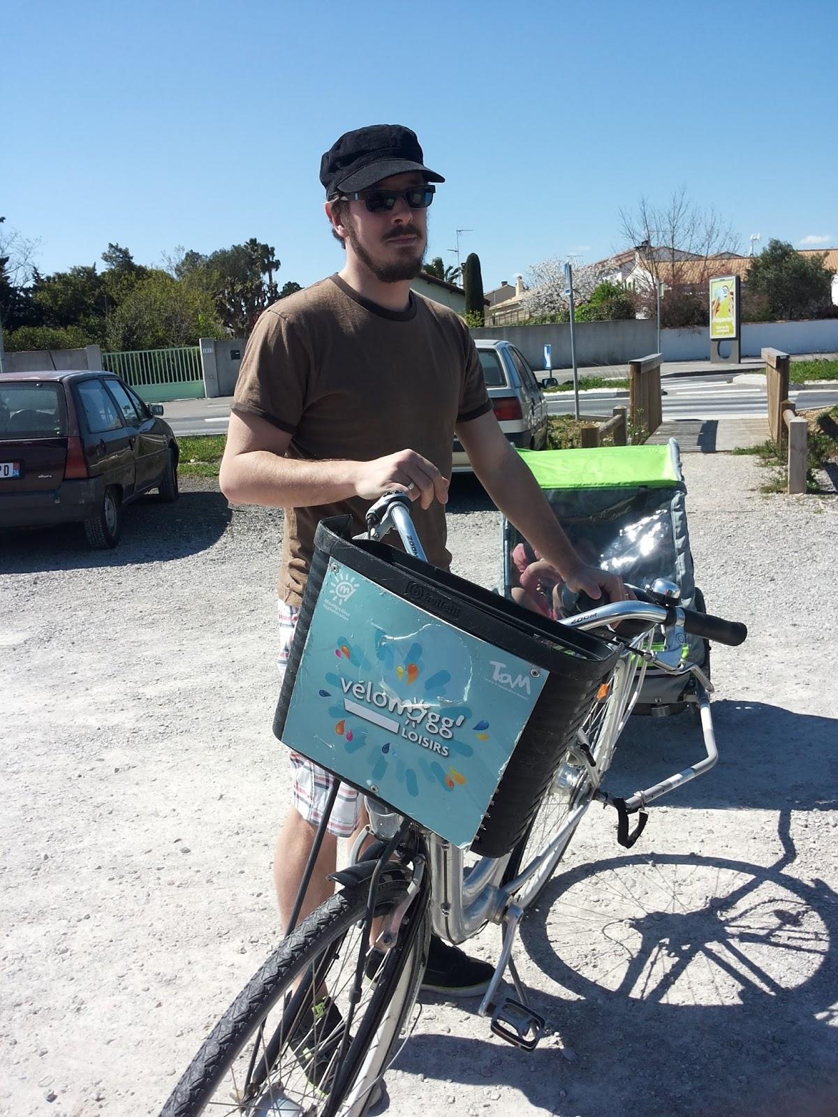 Vélos en libre service de Montpellier