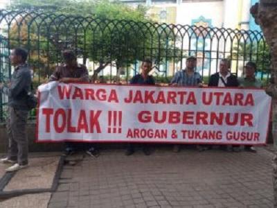 Aliansi Masyarakat Jakarta Utara Sebut Ketiga Cagub DKI Ada Campur Tangan Istana