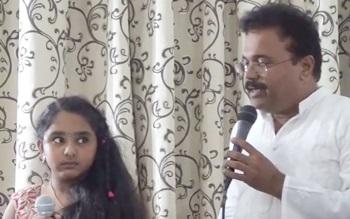 Adiye Azhage Oru Naal Koothu Song Cover Ganesh Samiksha