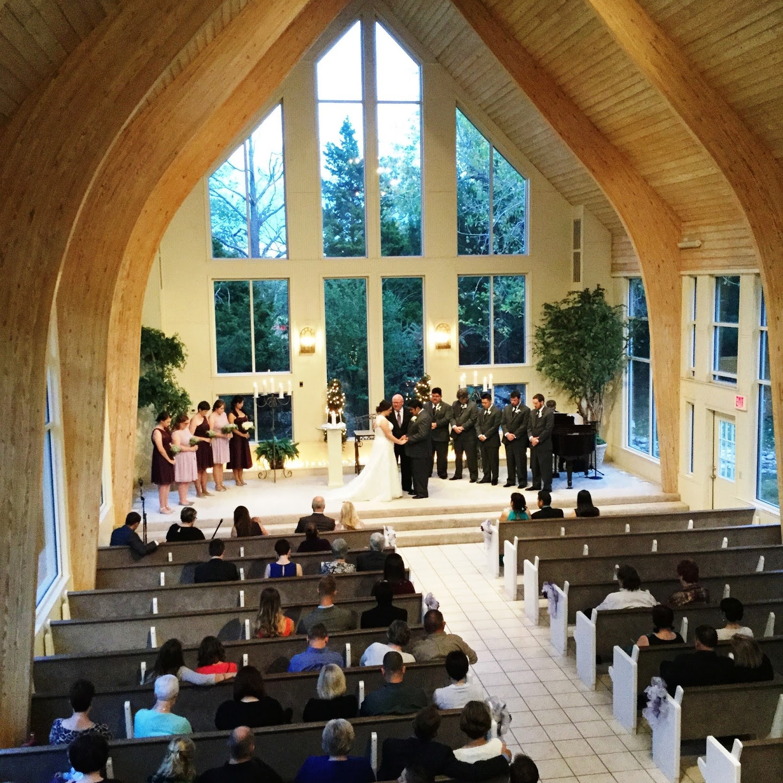 Preacher Wedding Altar: Walnut Creek Chapel: Morgan Pierce And Erick Rodriguez