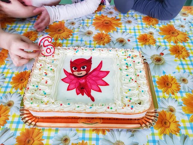 Torta per Festa a tema Super pigiamini - PJ Mask