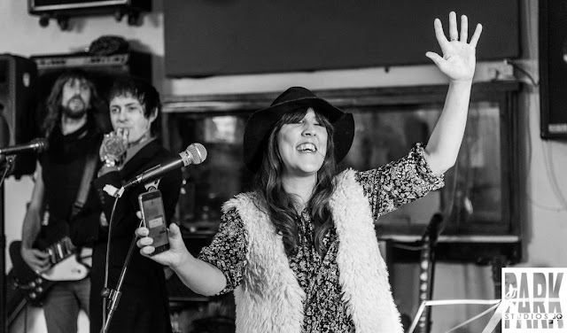 Brandy Row and the Coalition of Sound   Birmingham Recording Studio   Park Studios JQ   backing singer