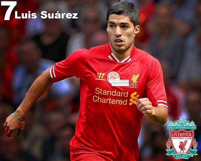 Luis Suarez Liverpool FC Wallpaper
