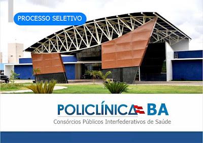 Políclinicas na Bahia abrem mais de 200 vagas