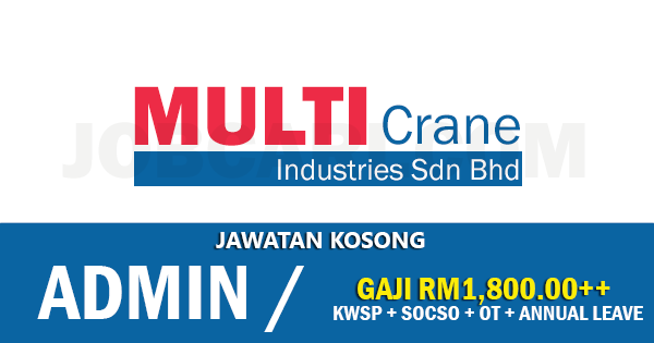 Jawatan Kosong di MultiCrane Industries Sdn Bhd
