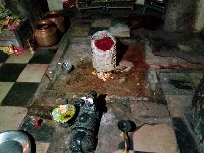 Lord Shiva at Chejerla Sri Kapoteswara Swamy Temple