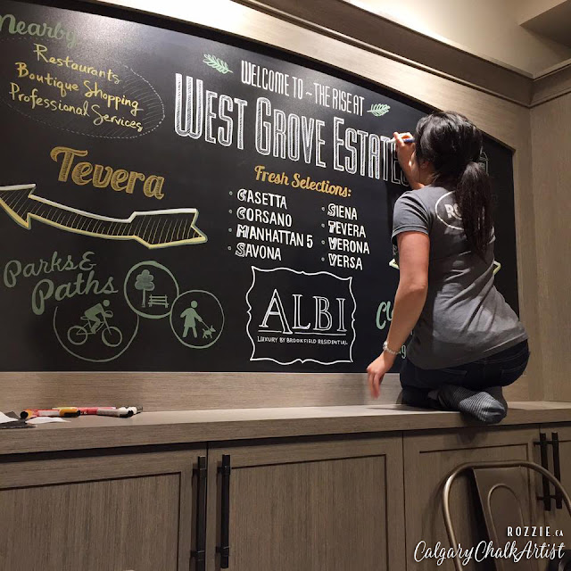Albi Homes Chalkboard