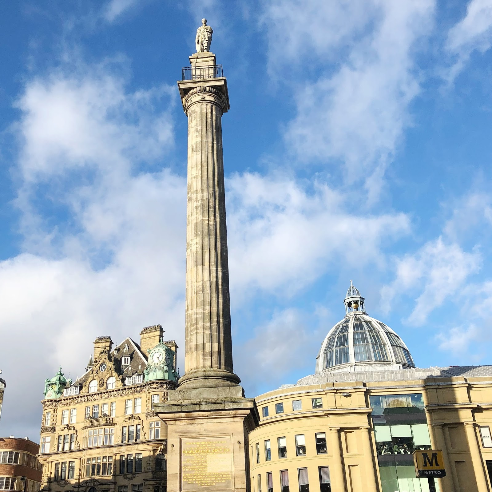20 Things to do in Newcastle during your Lunch Hour - Monument