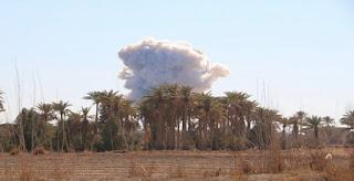 وجهت القوة الجوية العراقية ضربات قاصمة لاوكار عصابات داعش الارهابية في راوه و عنه غرب الأنبار