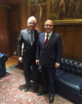 Edmar Bull e Geraldo Alckmin