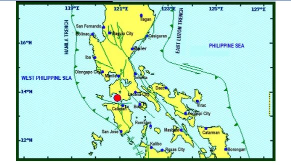 Magnitude 6.0 earthquake hits Mabini, Batangas on April 8, 2017