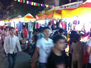 Shopping in the markets of Vietnam