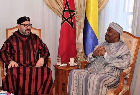 taroudant24 /  جلالة الملك يزور الرئيس الغابوني بالمستشفى العسكري للرباط