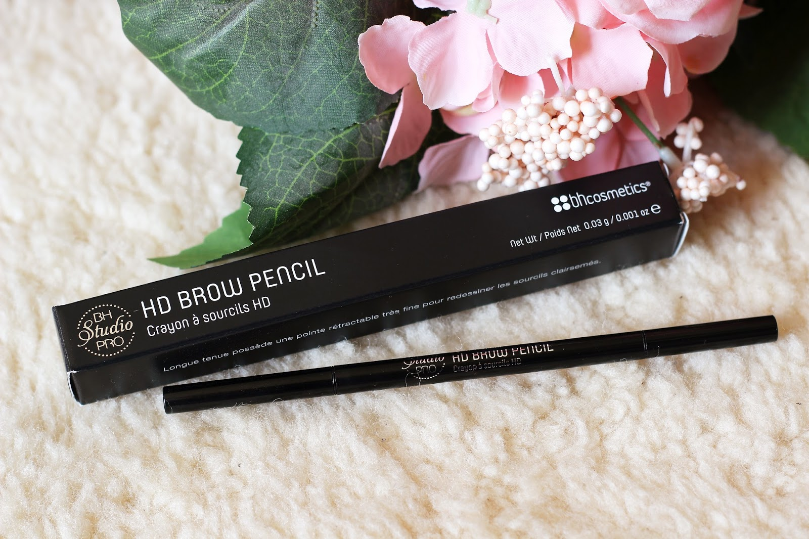 BH Cosmetics Studio Pro HD Brow Pencil | Review & Swatch | Ivory ...