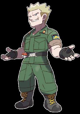 """en el Gimnasio Pokémon de Ciudad Carmín podrán enfrentarse a su líder, el Teniente Surge, conocido por ser un """"tipo duro fulminante""""."""